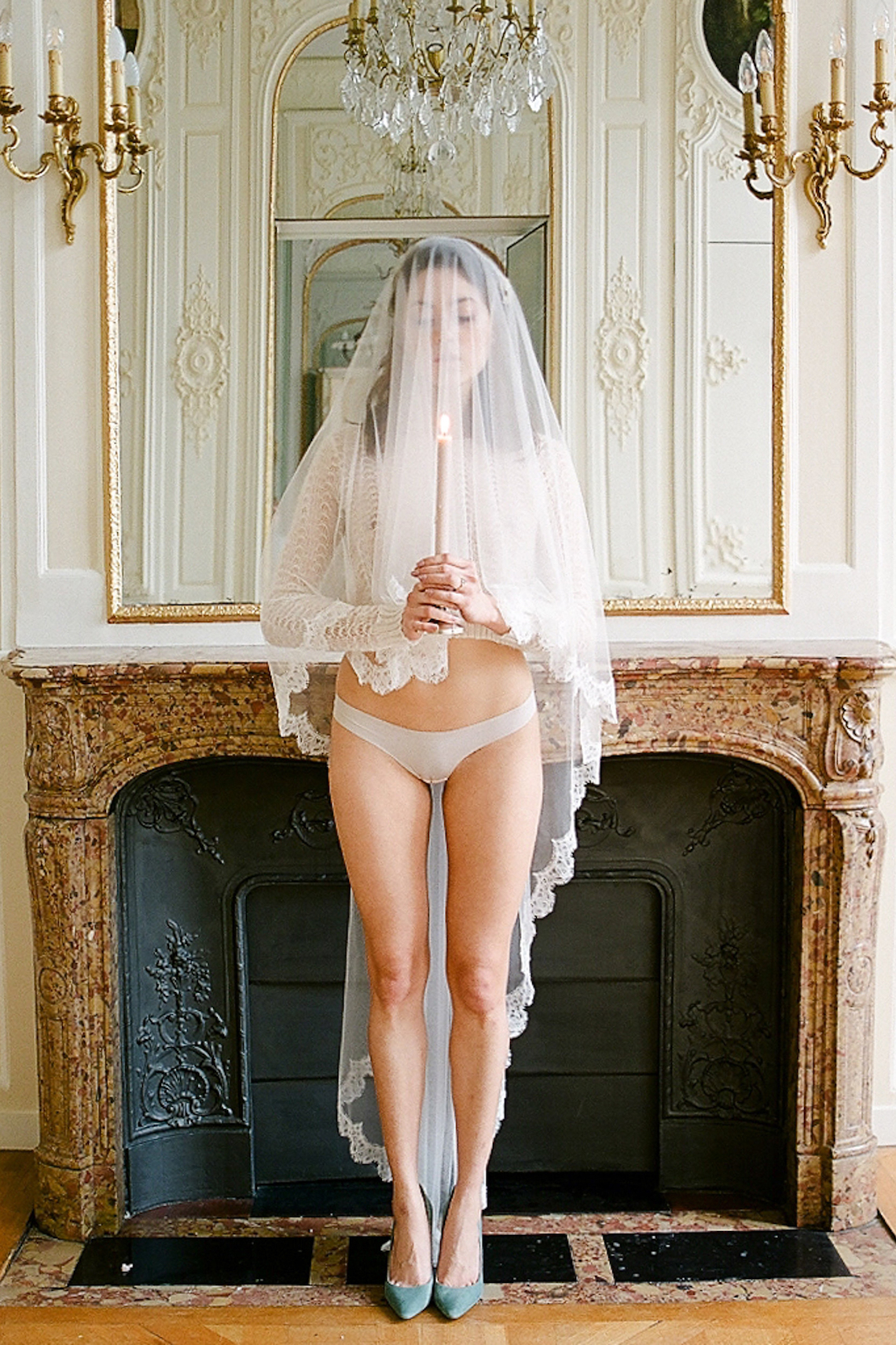 Panties Thru Dress