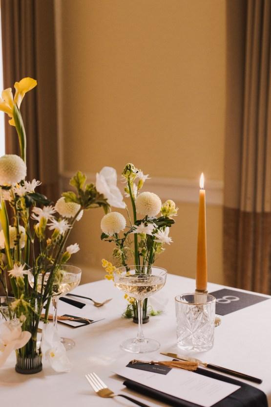 Modern Minimalistic London Wedding Inspiration – Blonde Army – Lisa Jane Photography 29