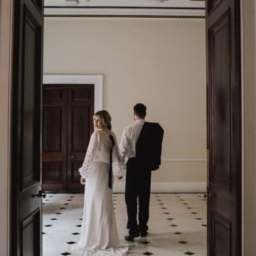 Modern Minimalistic London Wedding Inspiration – Blonde Army – Lisa Jane Photography 39