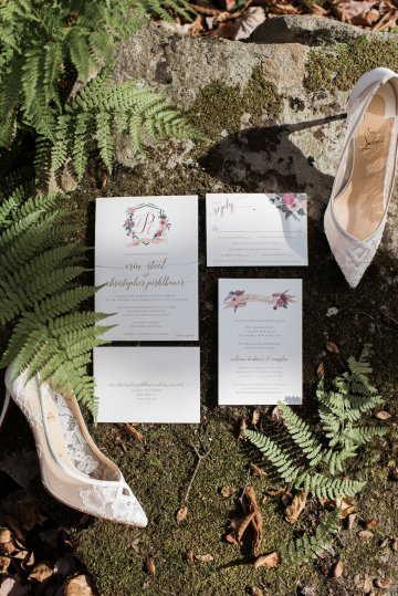 Warm Fall Catskills Wedding With Ceremony Sparklers – Christina Lilly Photography – Buds of Brooklyn 22