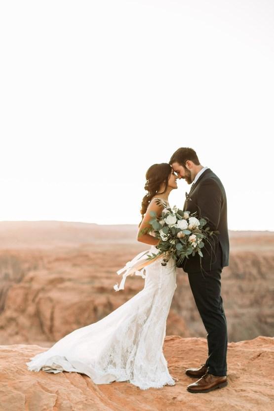 Wild and Bohemian Horseshoe Bend Wedidng Inspiration – Carmela Joy Photography – Luv Bridal 12