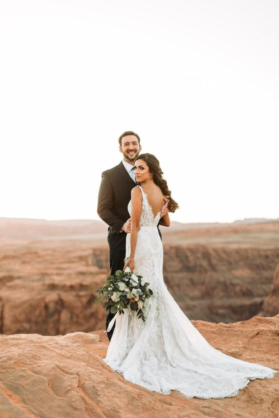 Wild and Bohemian Horseshoe Bend Wedidng Inspiration – Carmela Joy Photography – Luv Bridal 23