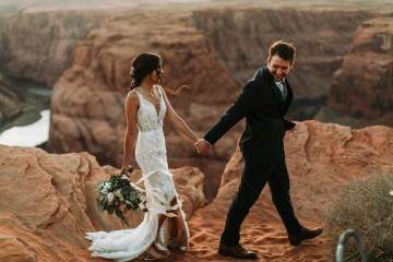 Wild and Bohemian Horseshoe Bend Wedidng Inspiration – Carmela Joy Photography – Luv Bridal 5