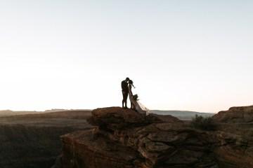 Wild and Bohemian Horseshoe Bend Wedidng Inspiration – Carmela Joy Photography – Luv Bridal 9