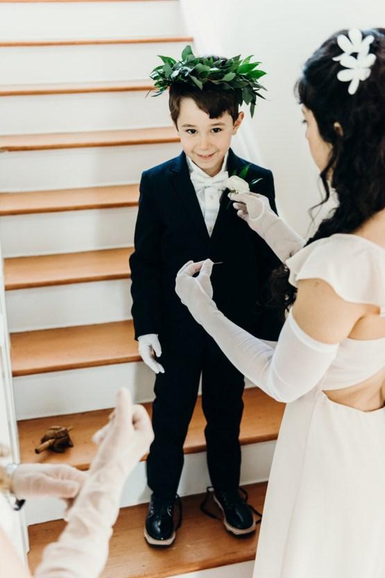All-White Portland Photo Studio Wedding – Davis Hilton 17