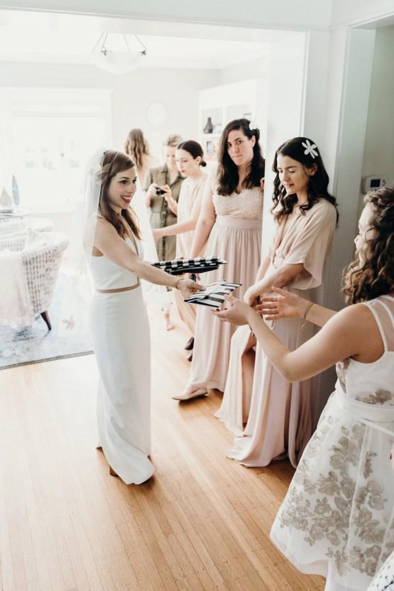 All-White Portland Photo Studio Wedding – Davis Hilton 8