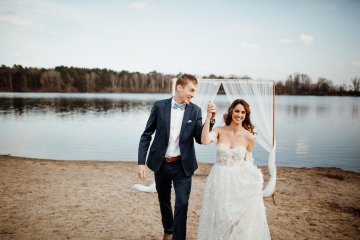 Beach Boho Wedding Inspiration With Agate Ideas – Stefanie Lange 1