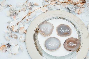 Beach Boho Wedding Inspiration With Agate Ideas – Stefanie Lange 11