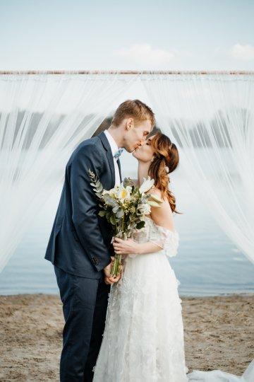 Beach Boho Wedding Inspiration With Agate Ideas – Stefanie Lange 22
