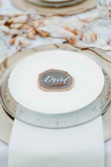 Beach Boho Wedding Inspiration With Agate Ideas – Stefanie Lange 37