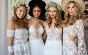 Best of Bridal Fashion Week: Watters' Imaginative Dreamscape of Wedding Gowns