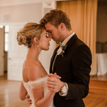 Champagne & Pink Chateau Wedding Inspiration In Texas – Wild Love Photography 26