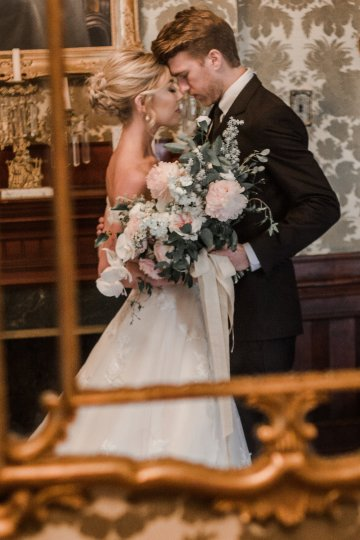 Champagne & Pink Chateau Wedding Inspiration In Texas – Wild Love Photography 29