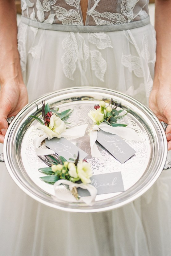 Charcoal Grey Wedding Ideas With Southern Roots – Sunshower Photography