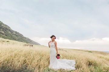 Colorful Hawaiian Boho Wedding Inspiration – Chelsea Stratso Photography 13