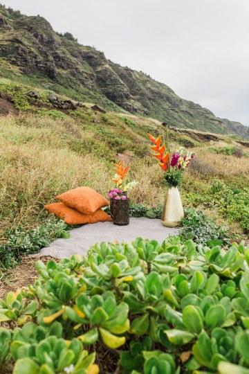 Colorful Hawaiian Boho Wedding Inspiration – Chelsea Stratso Photography 16