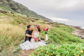Colorful Hawaiian Boho Wedding Inspiration – Chelsea Stratso Photography 2