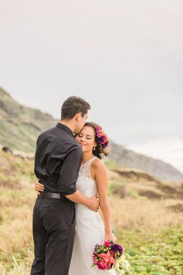 Colorful Hawaiian Boho Wedding Inspiration – Chelsea Stratso Photography 33