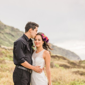 Colorful Hawaiian Boho Wedding Inspiration – Chelsea Stratso Photography 34