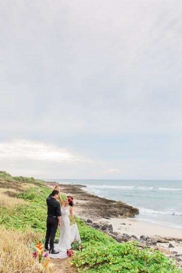 Colorful Hawaiian Boho Wedding Inspiration – Chelsea Stratso Photography 38