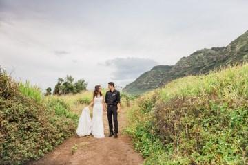 Colorful Hawaiian Boho Wedding Inspiration – Chelsea Stratso Photography 4