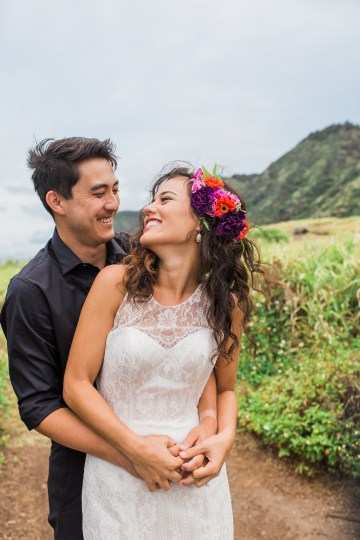 Colorful Hawaiian Boho Wedding Inspiration – Chelsea Stratso Photography 43