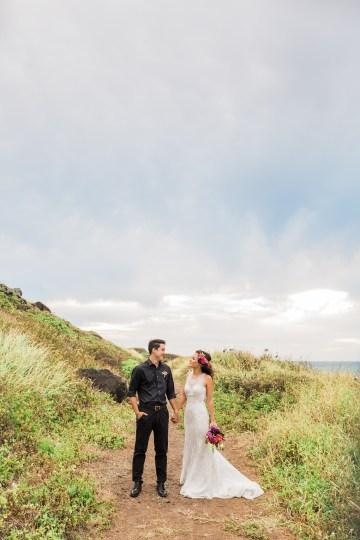 Colorful Hawaiian Boho Wedding Inspiration – Chelsea Stratso Photography 45