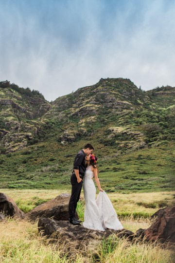 Colorful Hawaiian Boho Wedding Inspiration – Chelsea Stratso Photography 51