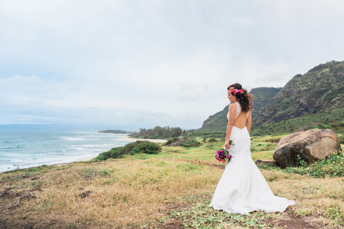 Colorful Hawaiian Boho Wedding Inspiration – Chelsea Stratso Photography 9