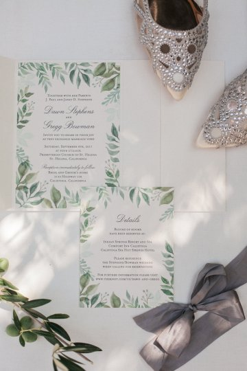 Elegant and Formal Calistoga Wine Country Wedding – Julie Kay Kelly 22