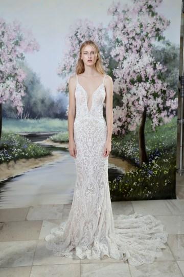 Galia Lahav Modern Fairytale-Inspired Wedding Dress Collection G-201 Front