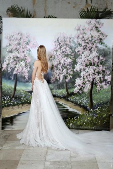 Galia Lahav Modern Fairytale-Inspired Wedding Dress Collection G-203 Back