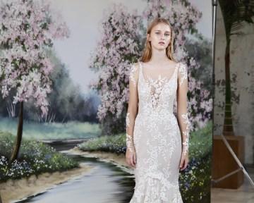 Galia Lahav Modern Fairytale-Inspired Wedding Dress Collection G-206 Front copy