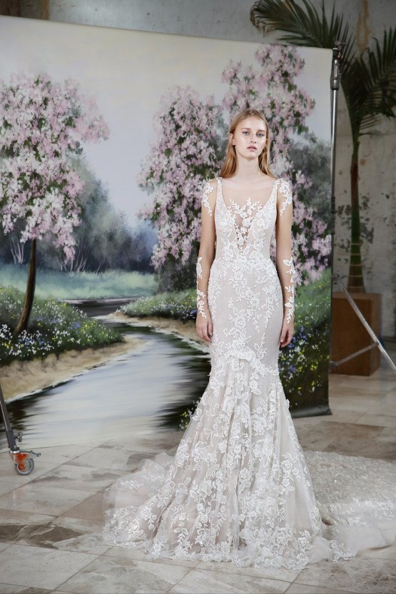 Galia Lahav Modern Fairytale-Inspired Wedding Dress Collection G-206 Front