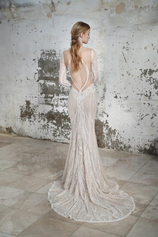 Galia Lahav Modern Fairytale-Inspired Wedding Dress Collection G-209 Back