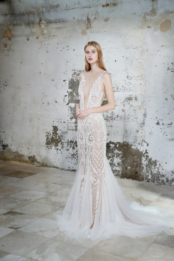 Galia Lahav Modern Fairytale-Inspired Wedding Dress Collection G-212 Front