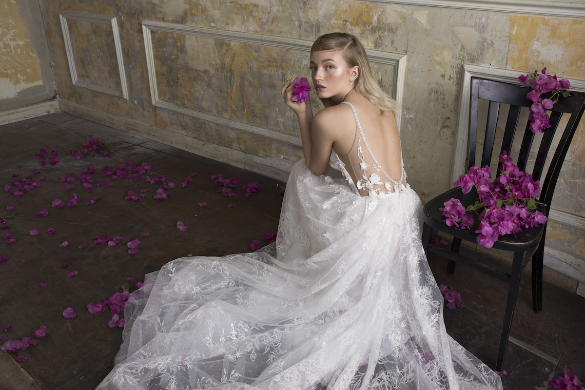 Couture Wedding Gowns: Princess Of Cool, Sparkling Limor Rosen Dresses For The