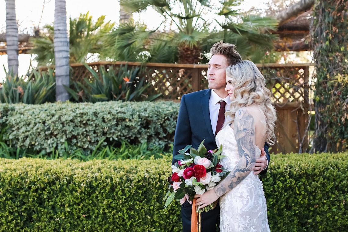 Metallic Copper Wedding Inspiration With A Creative Hexagon Altar – Allie Marion 44