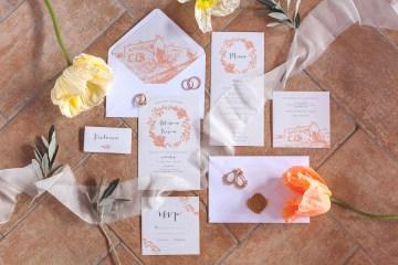 Rustic and Romatic Italian Wedding Inspiration From Tuscany – Tiziana Gallo 1