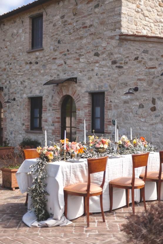 Rustic and Romatic Italian Wedding Inspiration From Tuscany – Tiziana Gallo 20