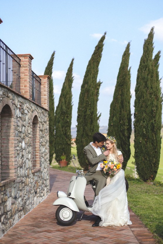 Rustic and Romatic Italian Wedding Inspiration From Tuscany – Tiziana Gallo 28