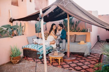 Stunning and Fashionable Moroccan Riad Wedding Inspiration – Studio Phylicia 8