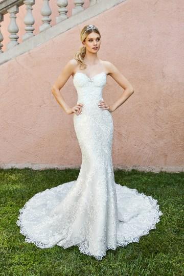 10 Stunning Wedding Dresses By Destination – Val Stefani Capri Dress 1