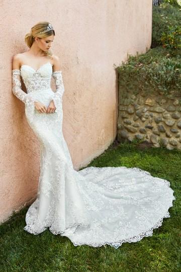 10 Stunning Wedding Dresses By Destination – Val Stefani Capri Dress 2