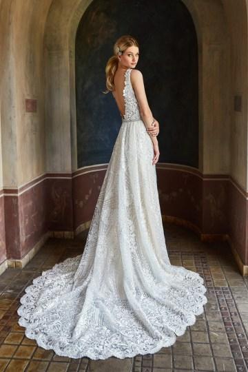 10 Stunning Wedding Dresses By Destination – Val Stefani Cyprus Dress 2