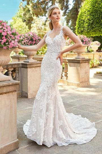 10 Stunning Wedding Dresses By Destination – Val Stefani Emilia Dress 2