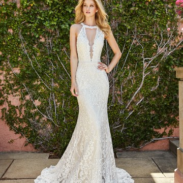 10 Stunning Wedding Dresses By Destination – Val Stefani Savona Dress 1
