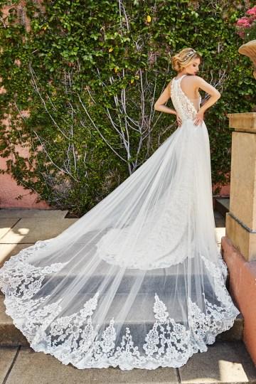 10 Stunning Wedding Dresses By Destination – Val Stefani Savona Dress 4