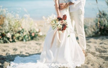 Dreamy Greek Picnic Elopement Inspiration In Neutral