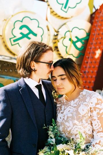 Hip and Colorful Las Vegas Neon Museum Wedding – Kristen Kay Photography 14